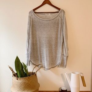 Project Social T Lightweight thermal flowy shirt